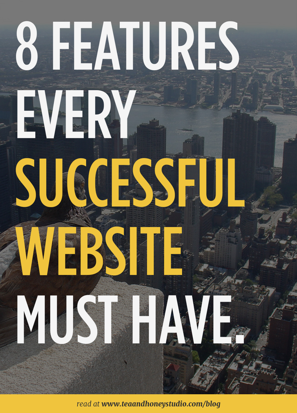 successful website features | Tea and Honey Studio