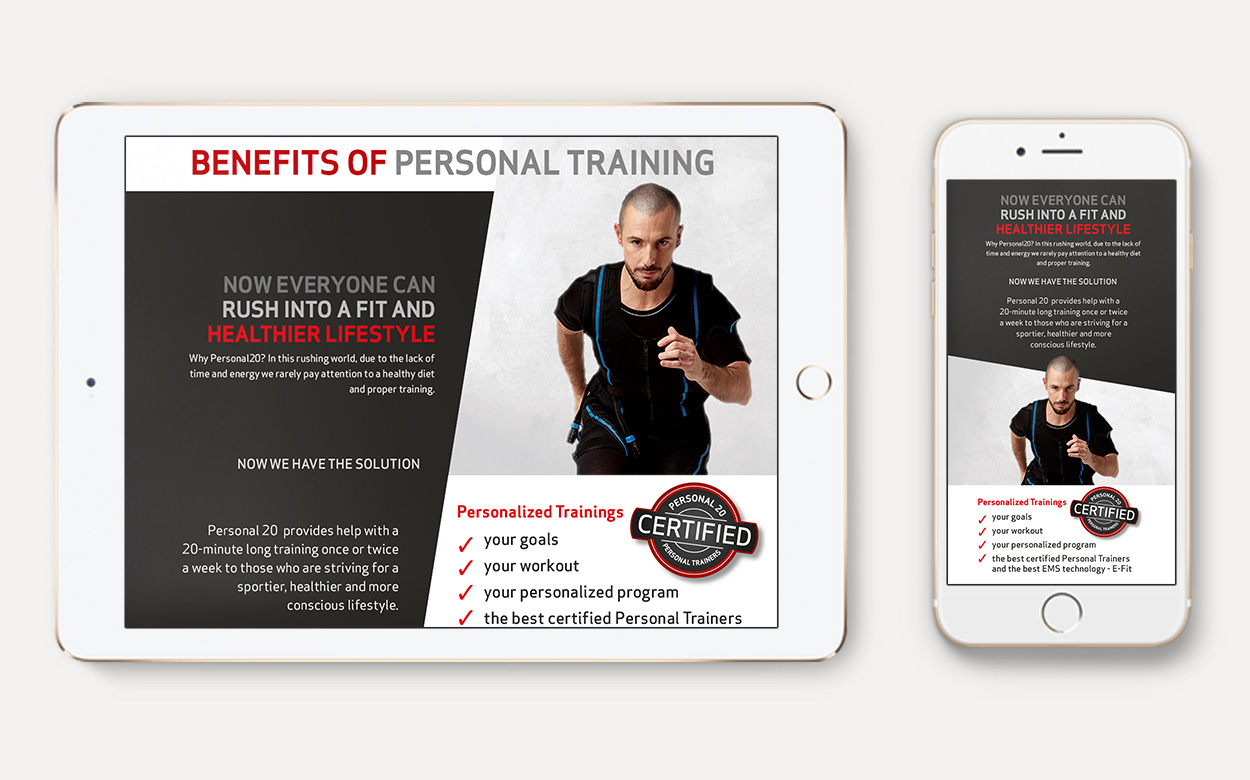 Responsive Fitness Website